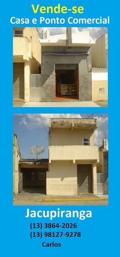 Vende-se Casa - Ponto Comercial