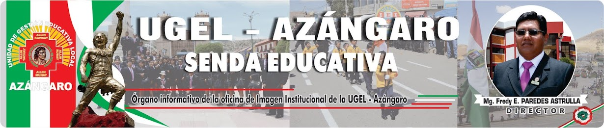 SENDA EDUCATIVA  AZÁNGARO
