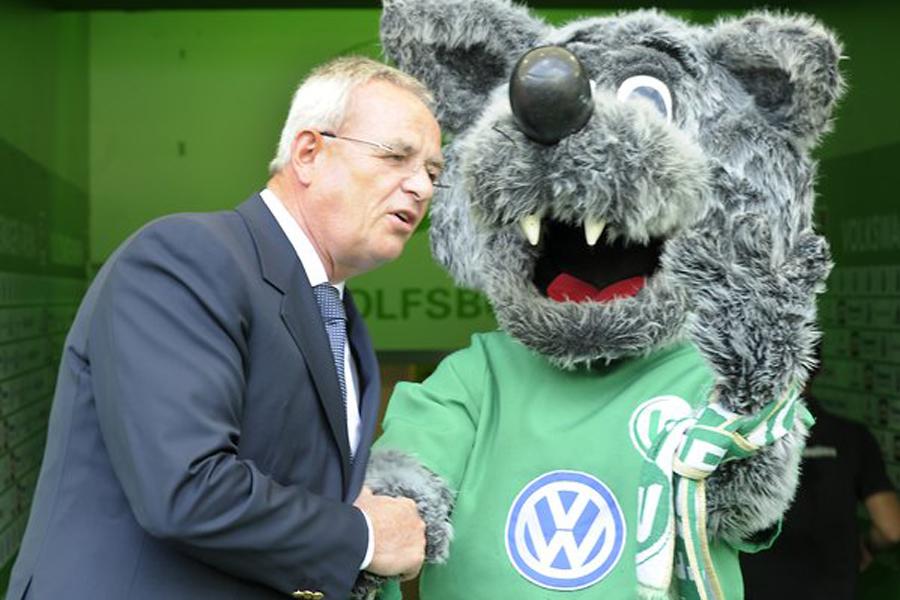 Sponsor VW congratulates VfL Wolfsburg to 1: 1 against Bayern