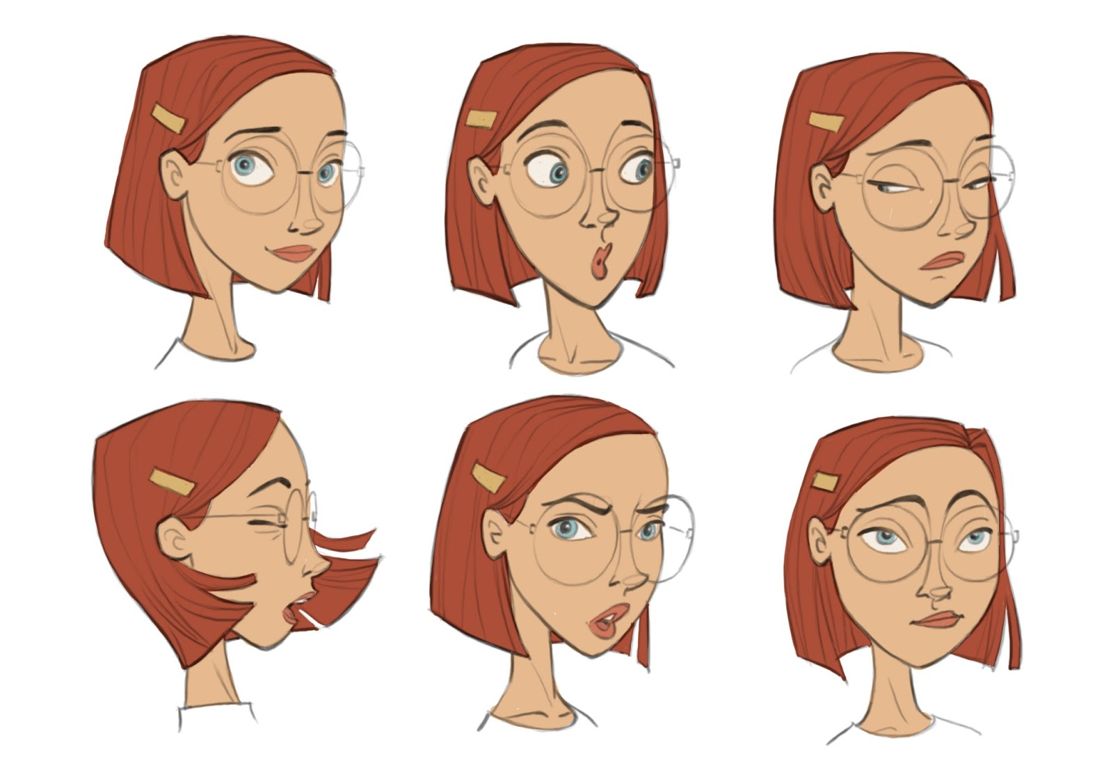 Character Design Emotions : Borja montoro character design for blue