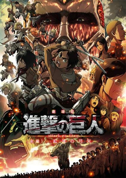 Shingeki no Kyojin Movie Guren no Yumiya Subtitle Indonesia