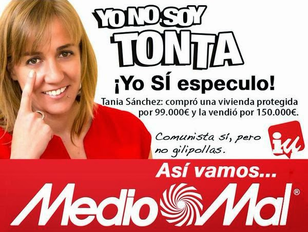 Tania Sanchez y las viviendas de proteccion oficial