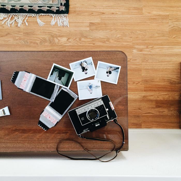 Polaroid 195 FP100C