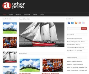 AuthorPress Magazine Theme