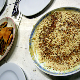 ground hummus