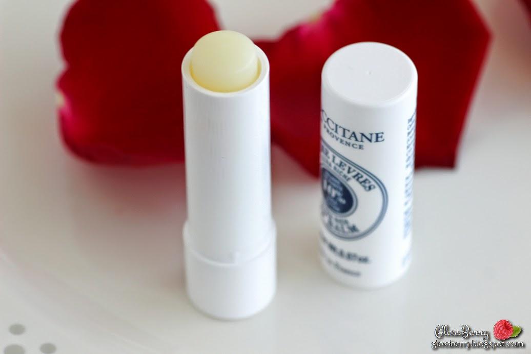 l'occitane review ultra rich lip balm shea butter שפתון לחות לשפתיים יבשות ל'אוקסיטן לוקסיטן חמאת שיאה בלוג איפור וטיפוח גלוסברי glossberry