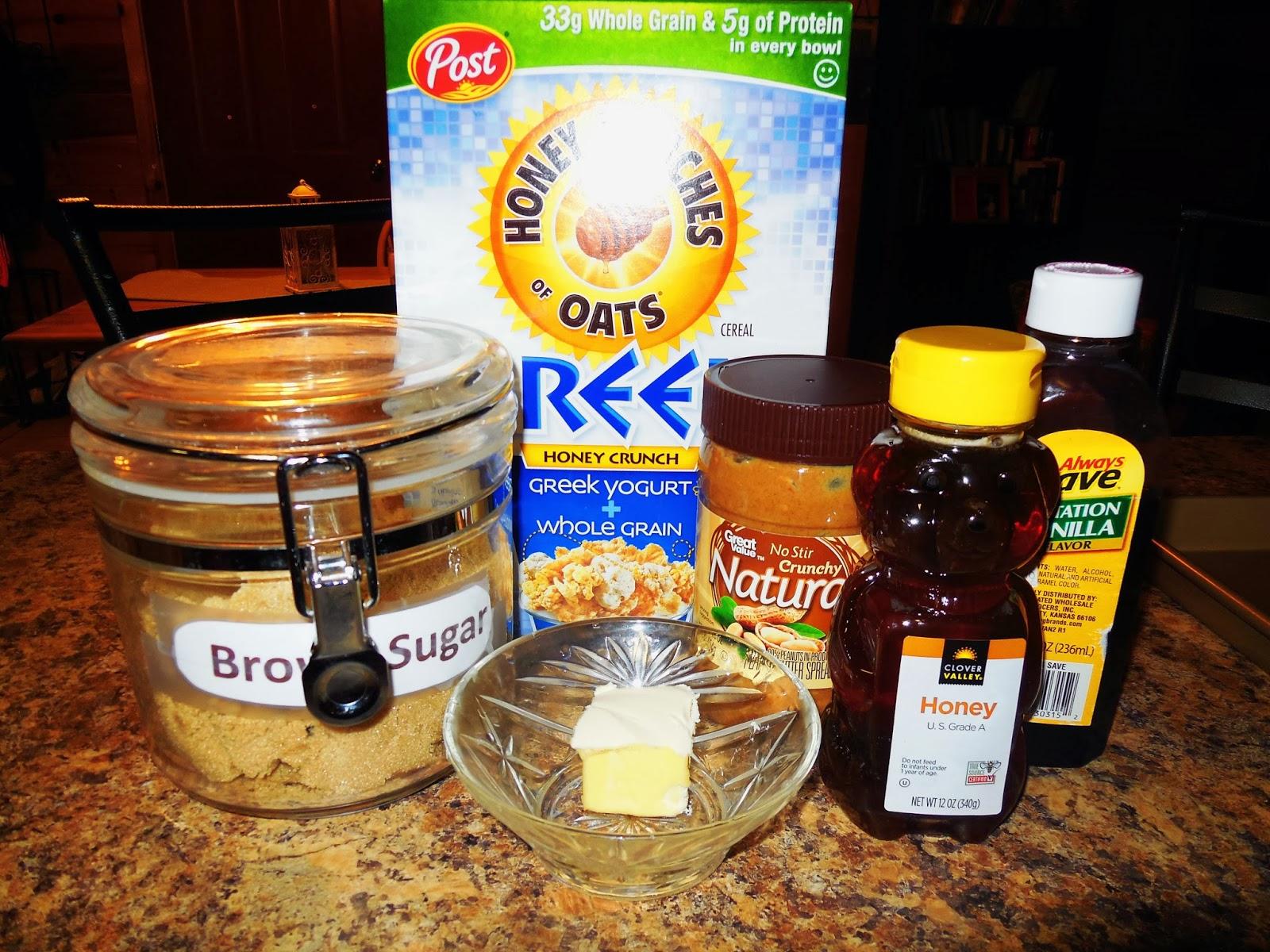 Valentine's Day Recipes- Granola Bars