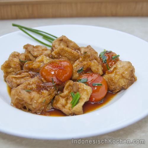 Tofu Kecap indonesisch kochen