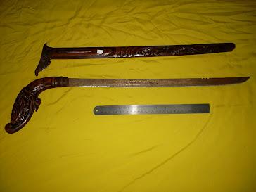 Pedang Burung Garuda Berwafak Ayatul Kursi