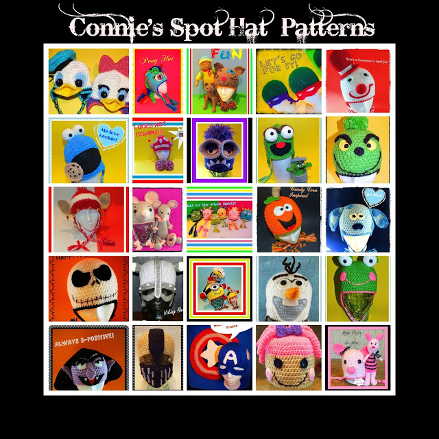 Connie's Spot© & Connie Hughes Designs© Pattern Store on Craftsy