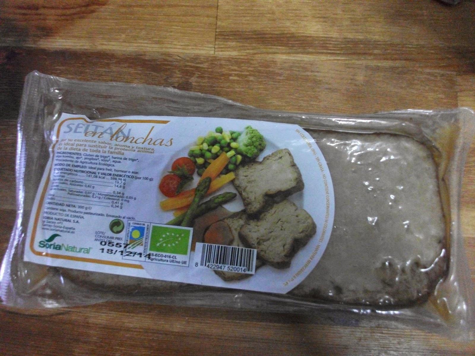 Como Cocinar Seitan | Jamon Verde Twitter Jamonverdeblog Como Hacer Seitan En La