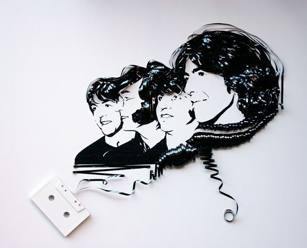 The Beatles Cassette Art