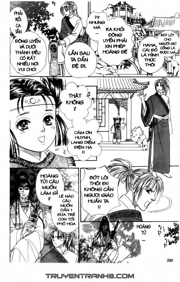 Đôi Cánh ỷ Thiên - Iten No Tsubasa chap 1 - Trang 26