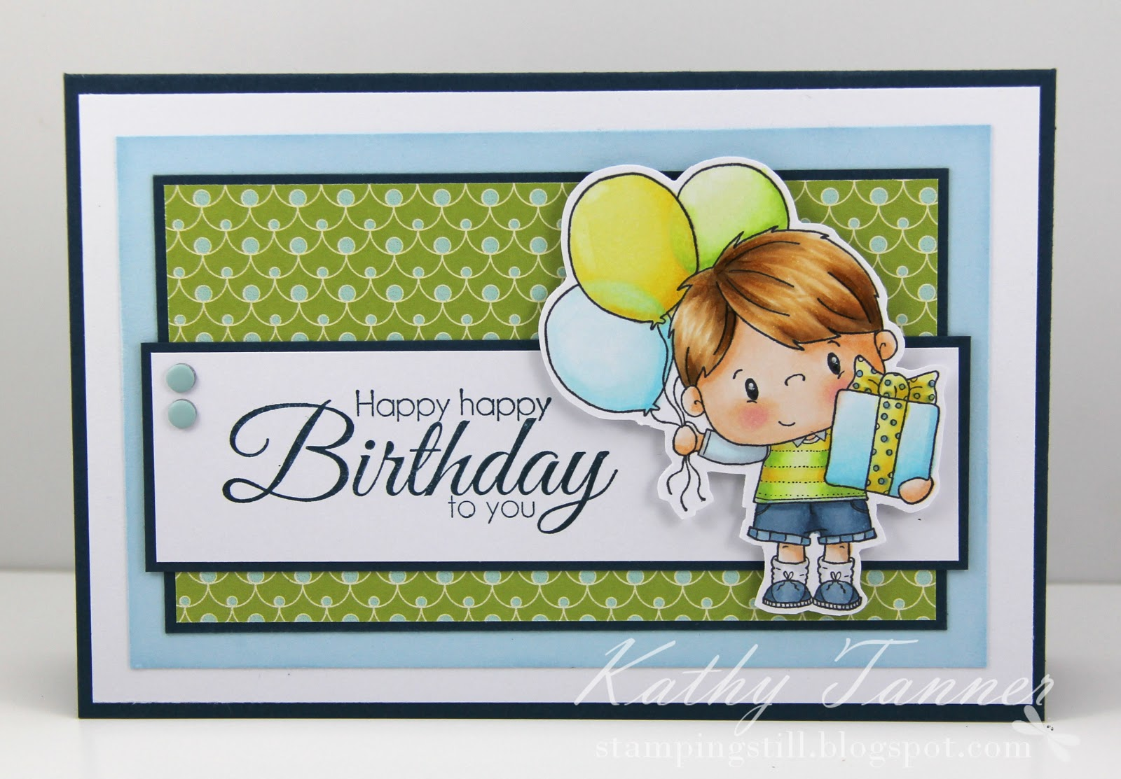 Grant, CC Designs, Pollycraft, Great Birthday Greetings