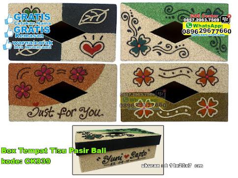 Box Tempat Tisu Pasir Bali