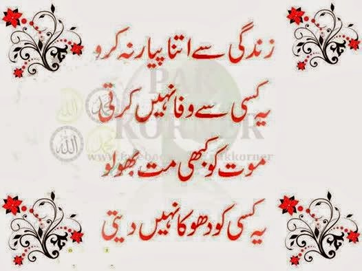 Life SMS Shayari In Urdu