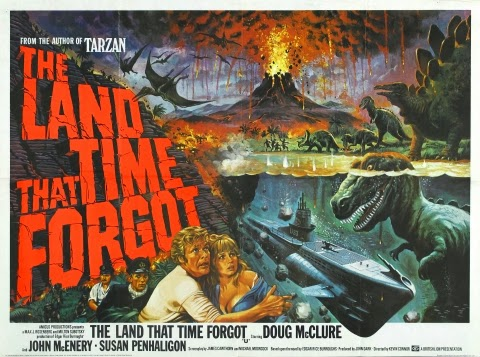 Poster - The Land that Time Forgot (1975)