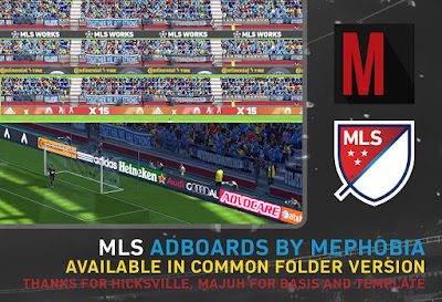 PES 2015 Major League Soccer Adboards by mephobia