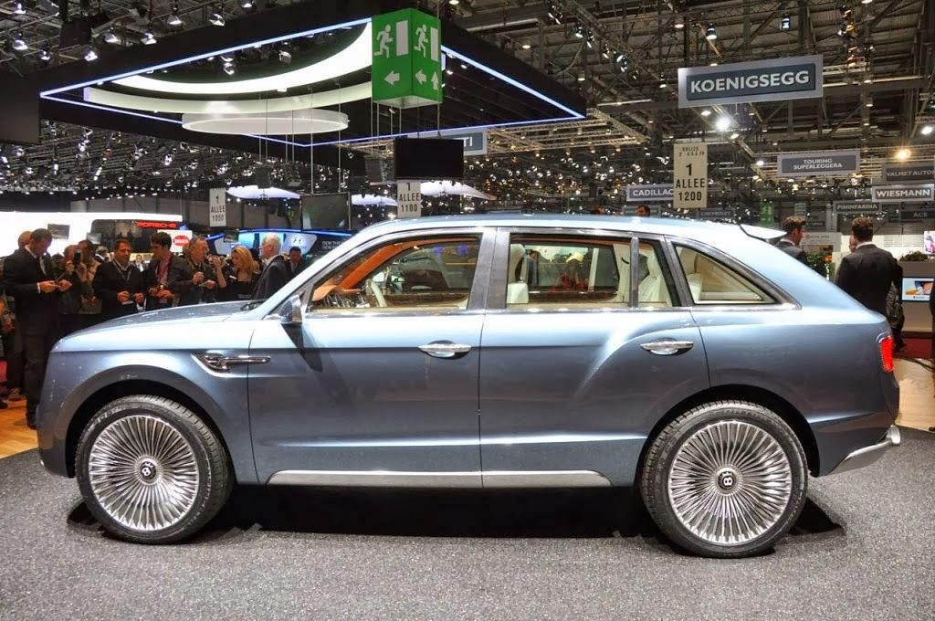 Bentley SUV Car Wallpapers