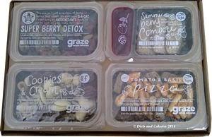 Graze Lightbox snack