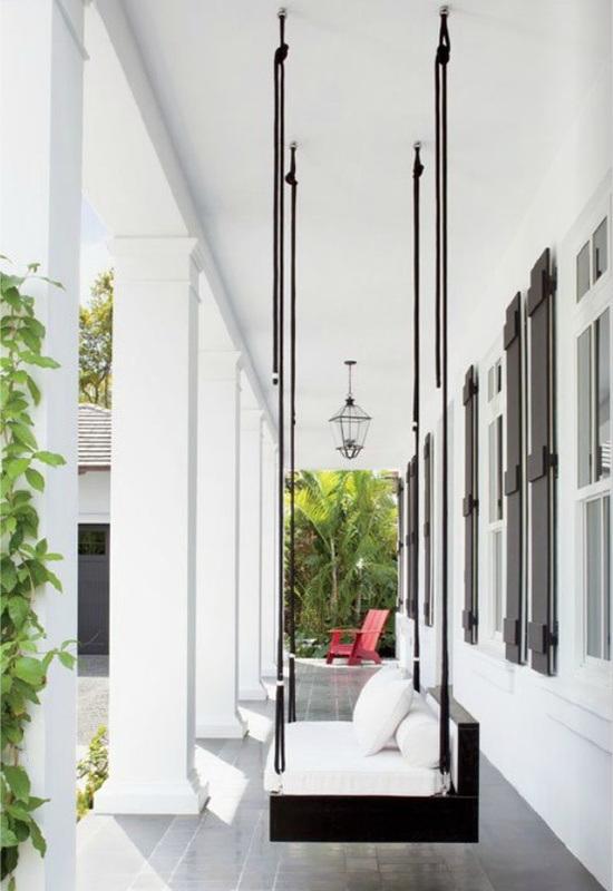 Twc decoraci n con columpios for Sofas para porches