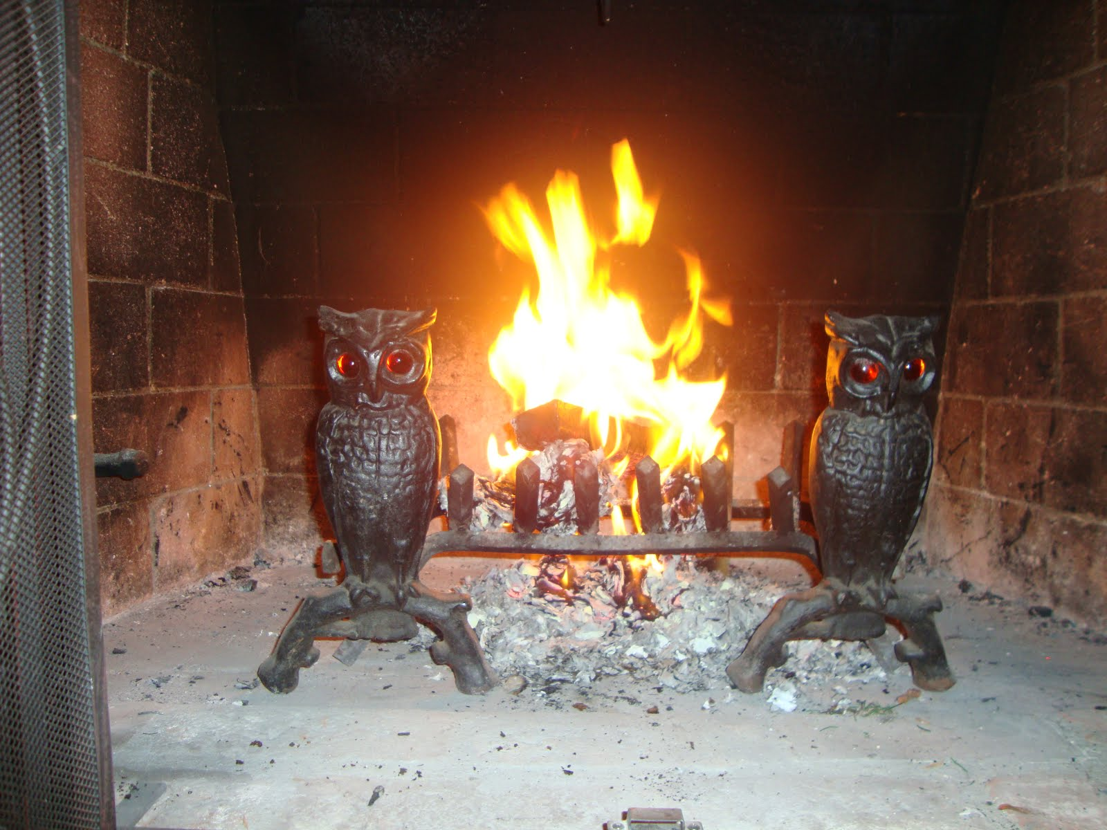 my remarkable style fireplace fun