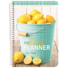 2018 Homemaker's Friend Daily Planner
