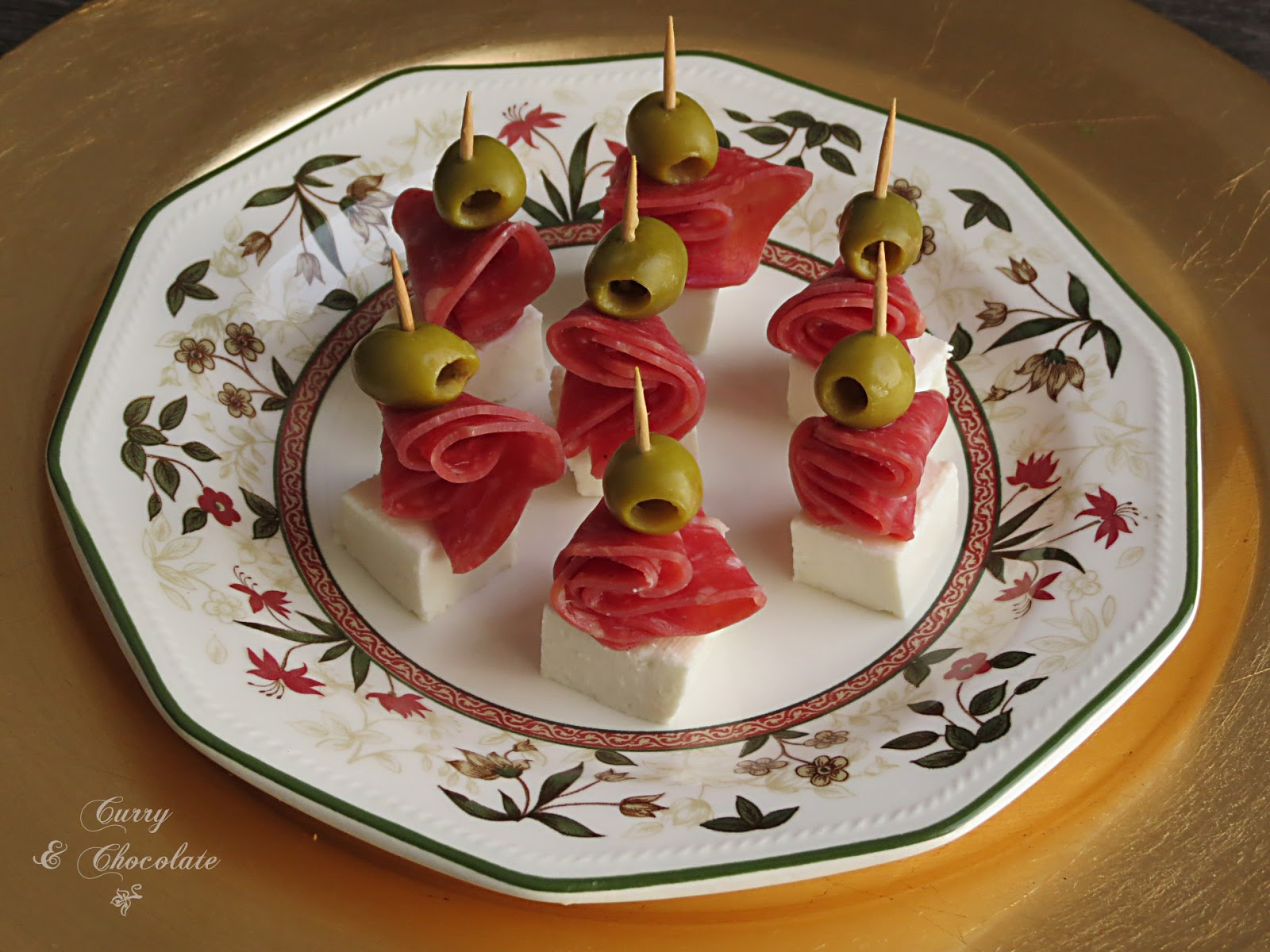 Curry y chocolate canap s f ciles parte 4 for Canape de jamon y queso