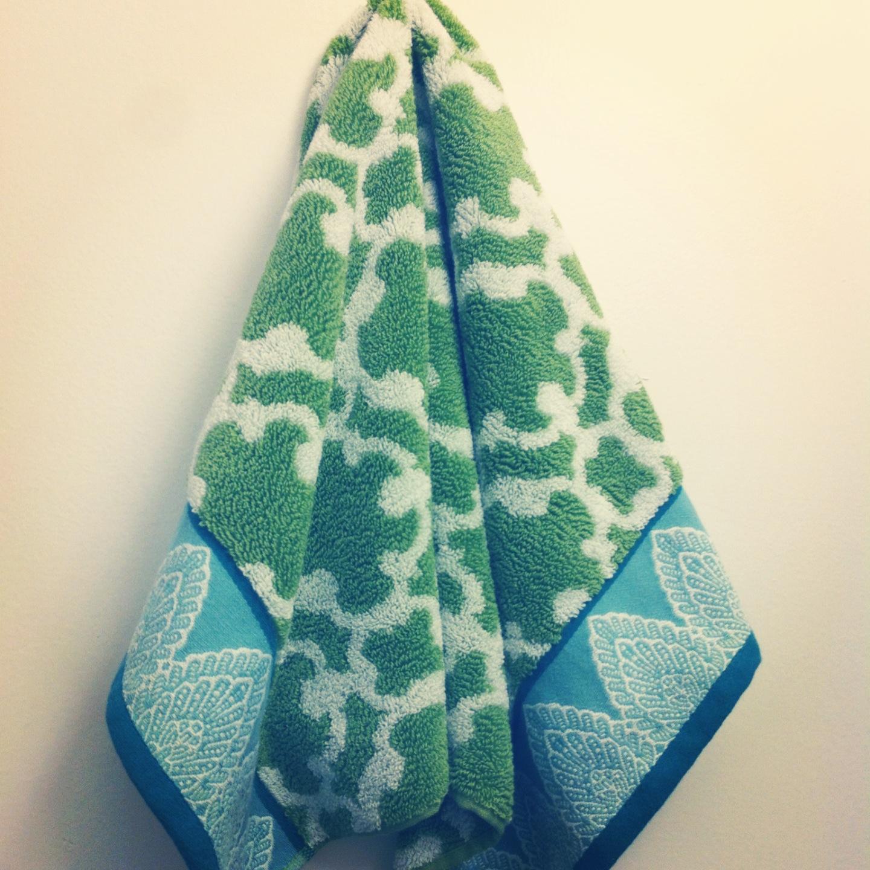 Beautiful Bathroom Hand Towels ten june: the little things: new bathroom hand towels