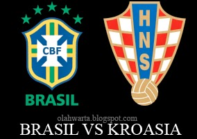 Head to Head Brasil vs Kroasia