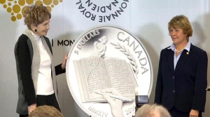 Alice Munro and her $ Coin.