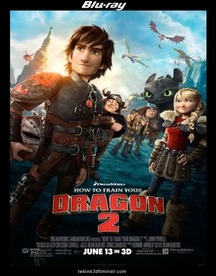 Ejderhanı Nasıl Eğitirsin 2: How to Train Your Dragon 2 (2014) afis