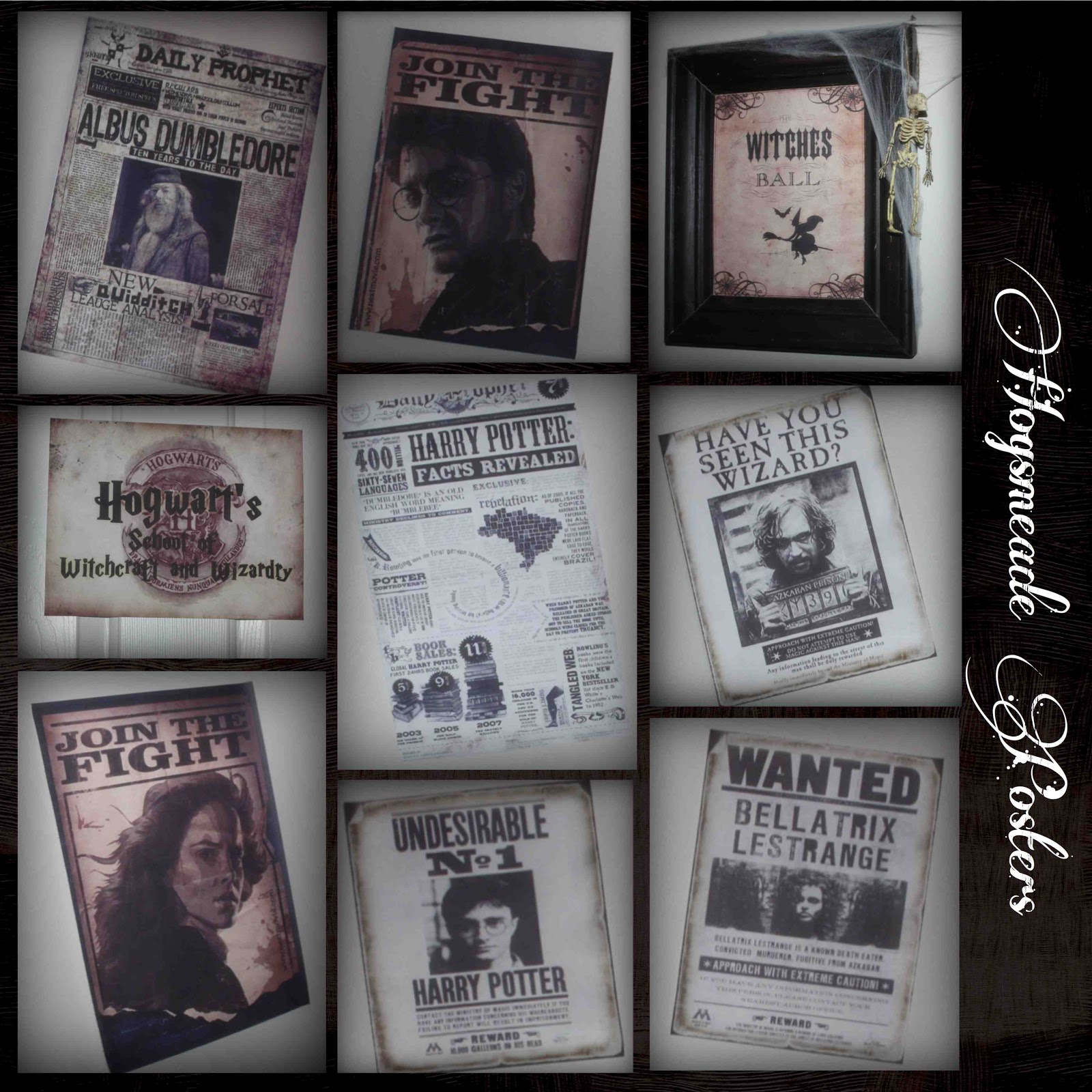 It is a picture of Unforgettable Harry Potter Print Outs