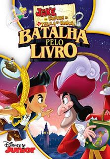 Jake e Os Piratas da Terra do Nunca: Batalha Pelo Livro - DVDRip Dublado
