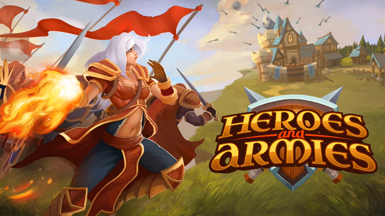 Heroes and Armies Gameplay IOS / Android
