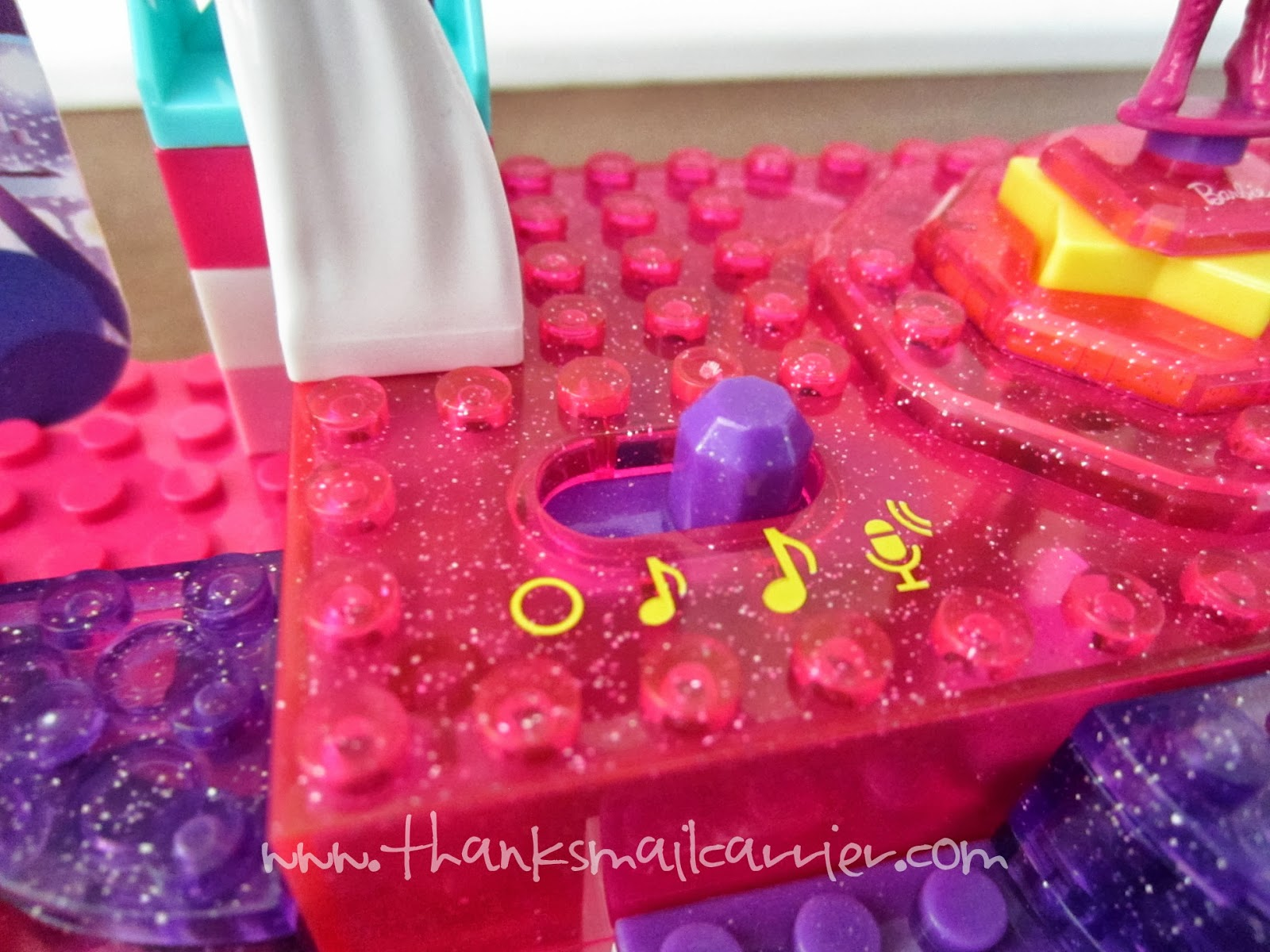 Mega Bloks Barbie Stage controls