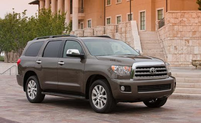 2013 Toyota Sequoia, First In-car Blu Ray Player