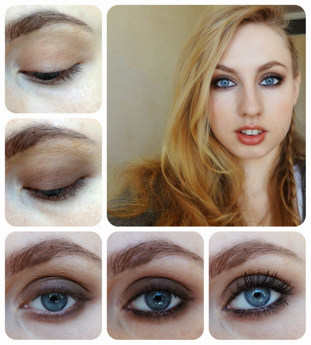Smoky eyes пошаговая инструкция