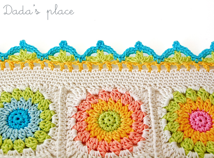 Crocheting Borders : Crochet border chart