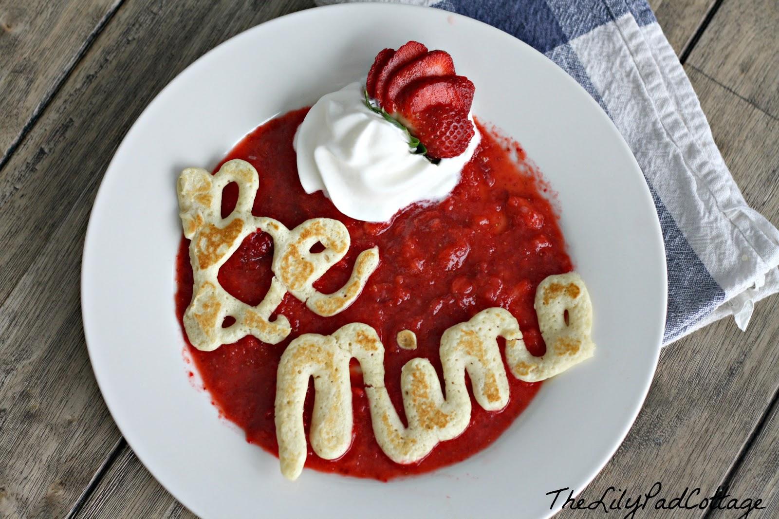 Be Mine Pancakes