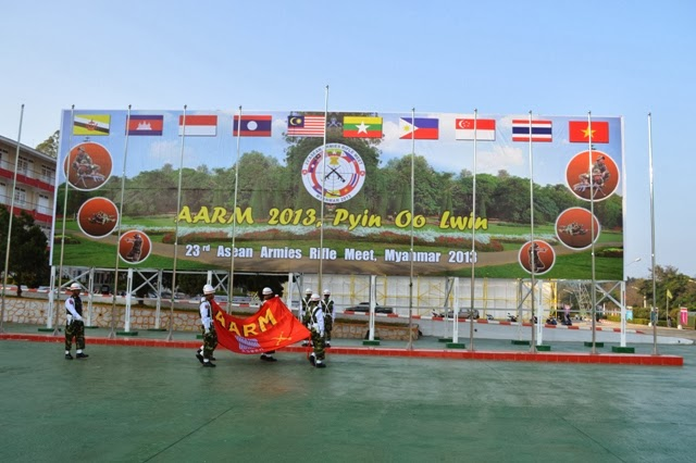 TNI Mendominasi Pada Kejuaraan Menembak 23nd ASEAN Armies Rifle Meet (AARM) 2013