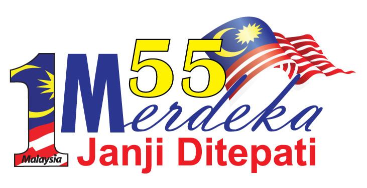 Myinfo Malaysia Logo Dan Tema Hari Kebangsaan Malaysia Ke 55