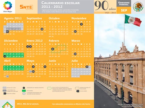 Calendario Escolar 2001-2012