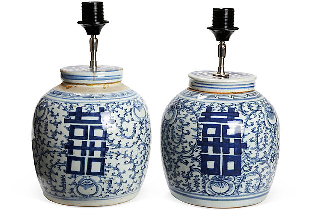 sonoma home also has a selection of ginger jars such as this one. Black Bedroom Furniture Sets. Home Design Ideas
