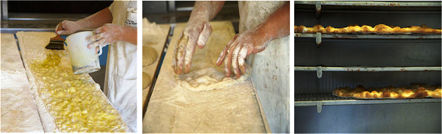 pizza bianca roma, pizza campo fiori, how to make focaccia