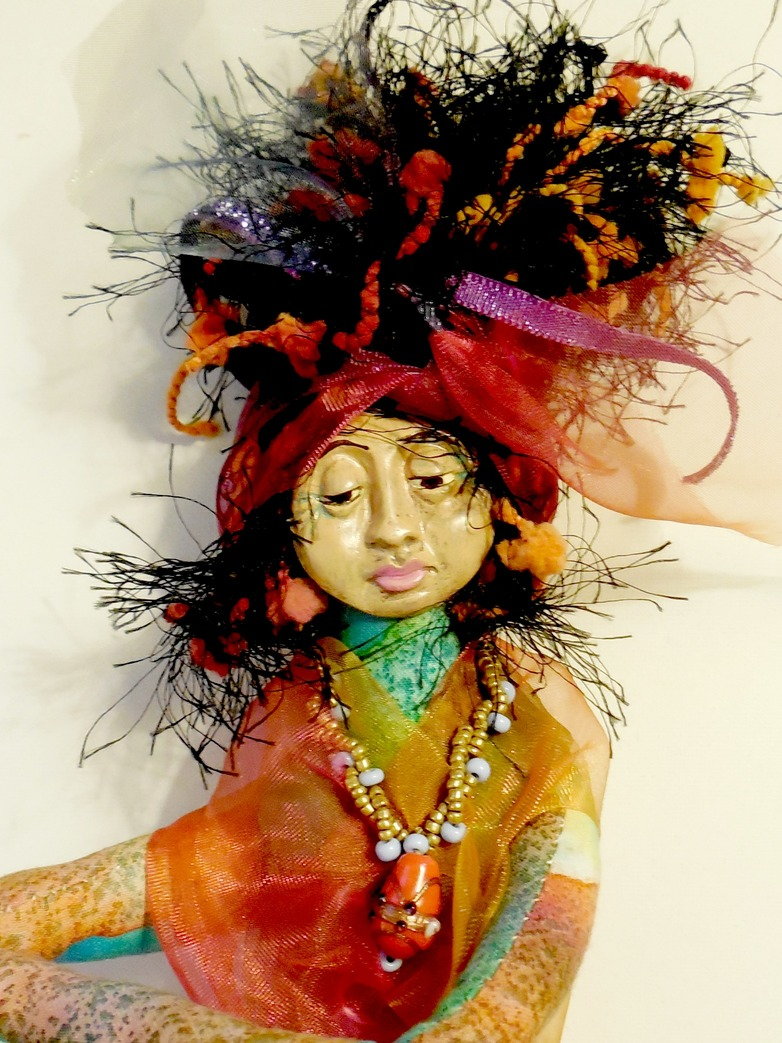 wisdom keeper art dolls mama muse a whimsical and vibrant