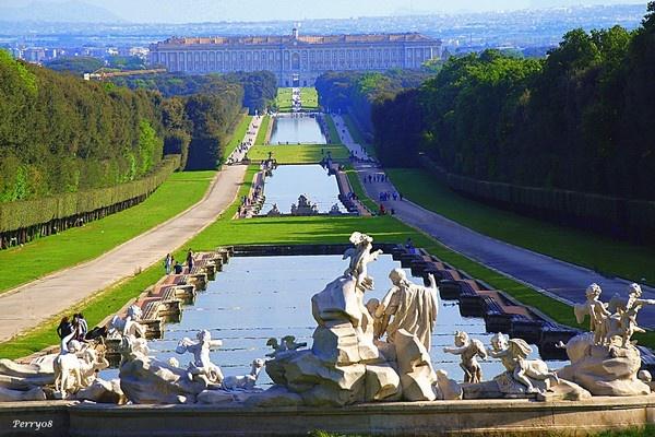 Ville palazzi signorili e dimore storiche i giardini pi - I giardini del te ...