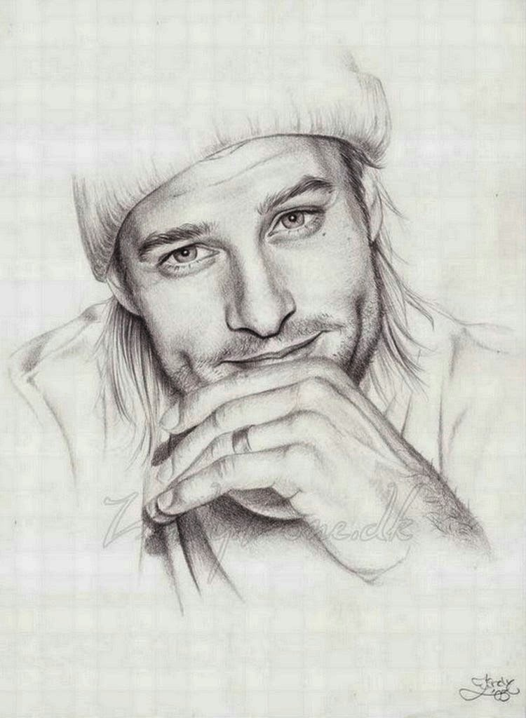 dibujos-de-rostros-de-hombres-a-lapiz