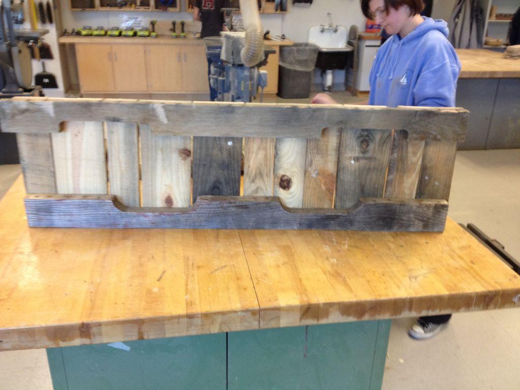 Construir con palets un sof balanc n for Costruire un altalena in legno