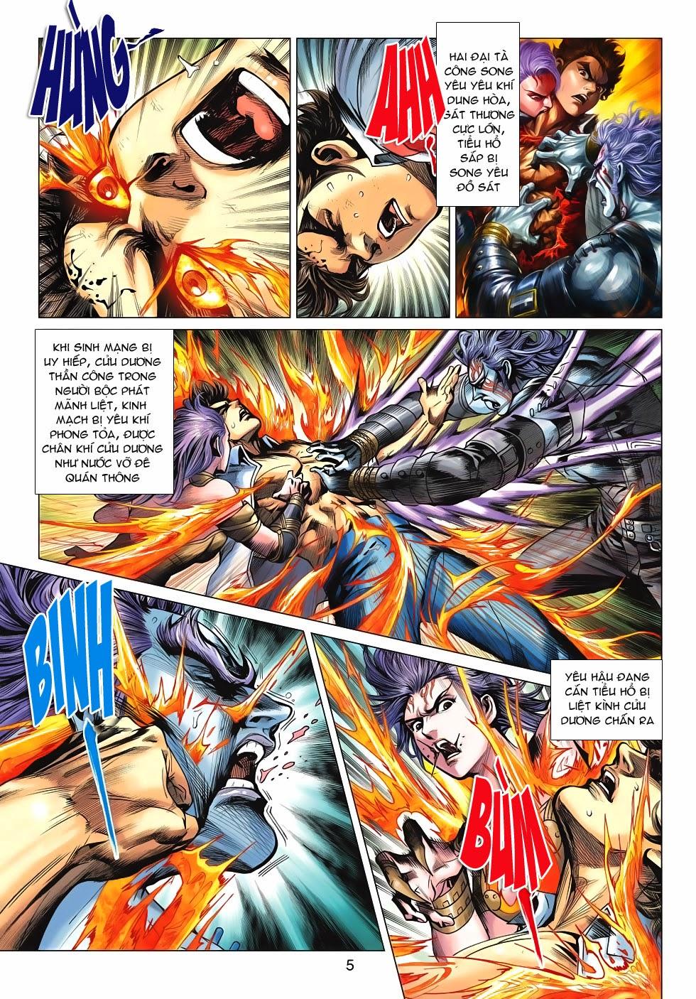 Tân Tác Long Hổ Môn chap 626 - Trang 5